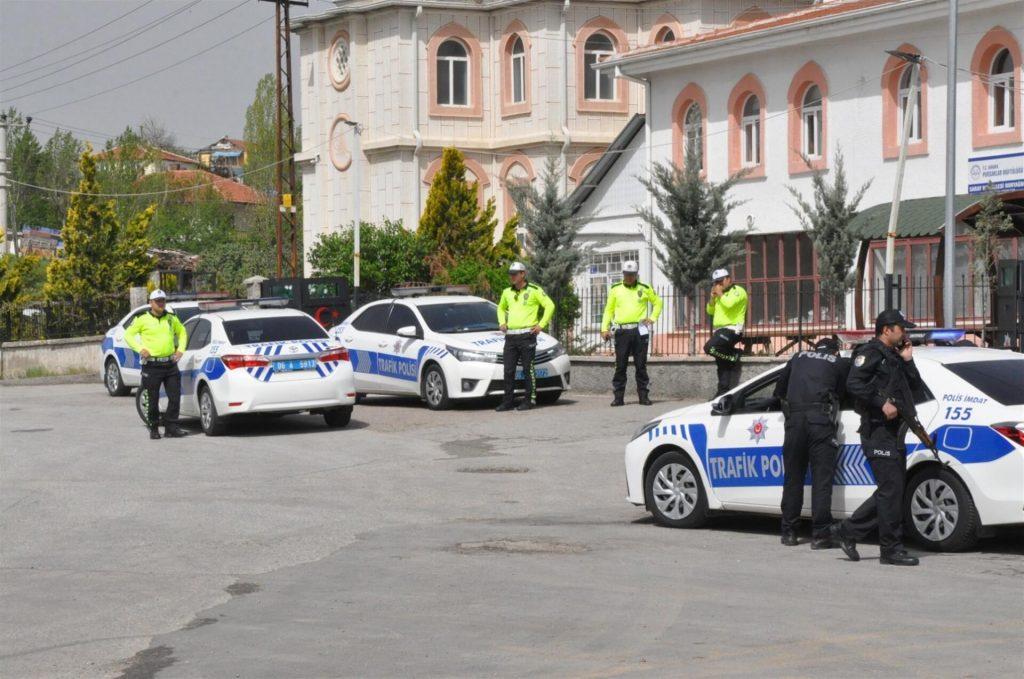 پلیس های راهنمایی و رانندگی در ترکیه