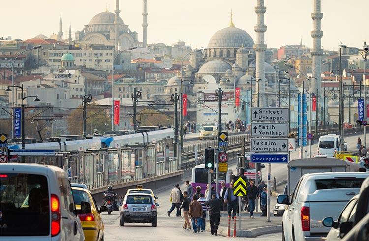 رانندگی در ترکیه و راه های شهری