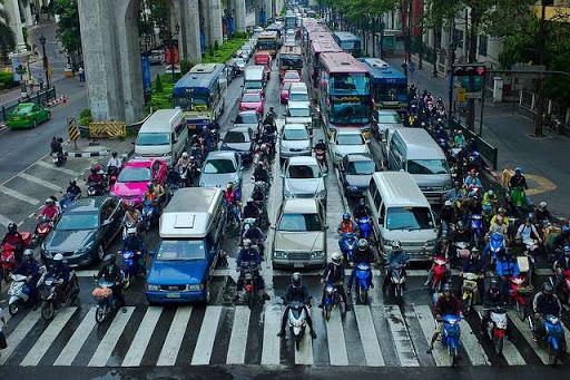 رانندگی در کشور تایلند