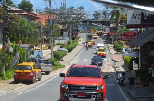رانندگی در راه های تایلند