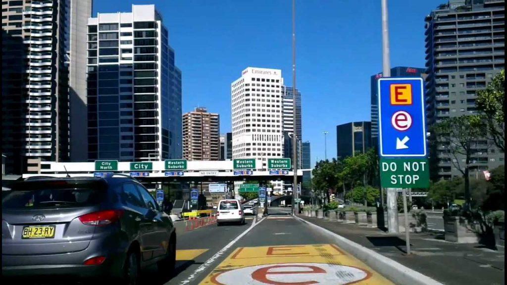 رانندگی در شهر سیدنی
