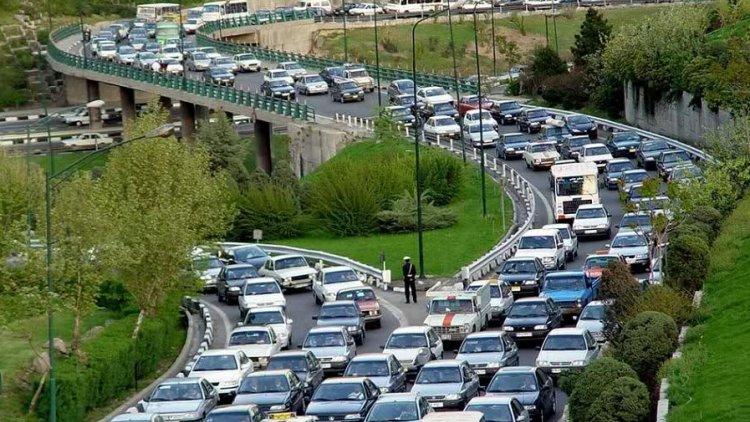 رانندگی در تهران بزرگ