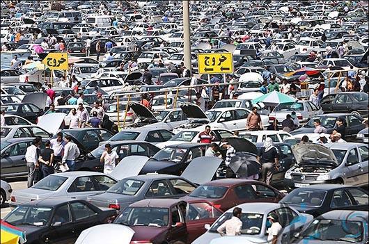 ماشین تصادفی - بازار خودرو - ماشین دست دوم