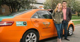 درآمد تاکسی در کانادا